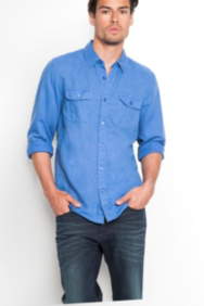 Walker Two-Pocket Shirt in Logan Fit