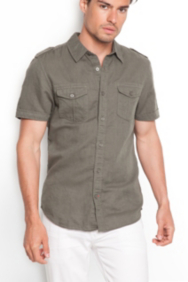 Walker Shirt in Dillon Slim Fit