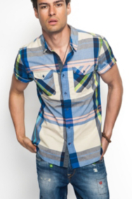 Logan Short-Sleeve Temple Shirt