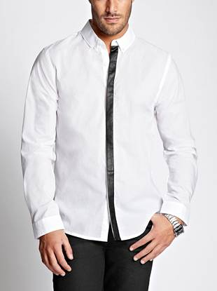 A Trend Focused Update To A Classic White Button Down