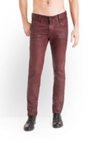 Alameda Jeans in Blaze Wash Red, 32 Inseam