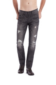 Vermont Jeans in Vista Wash Black, 32 Inseam