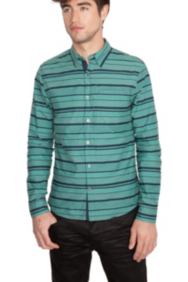Summit Striped Long-Sleeve Shirt