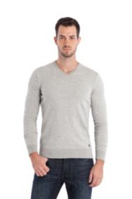 Dawson Slub V-Neck Sweater