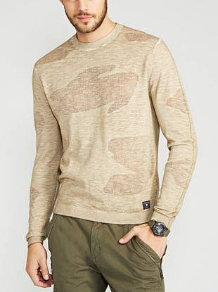Swap out your heavy-weight sweaters for this season-right option. Seriously soft with modern appeal, this handsome piece is easy to incorporate into your everyday looks.