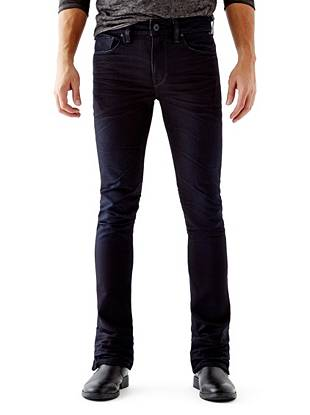WHY YOU NEED IT: One of our newest fits, the Skinny Boot fits skinny through the leg and kicks out at the ankle for a modern rock 'n' roll vibe. Made with European denim and great for slim builds.