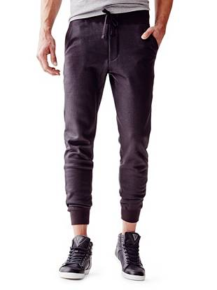 A modern update to your favorite sweats, these lounge pants are the ultimate throw-on-and-go pair. The soft and comfortable design is lightly coated for extra edge.