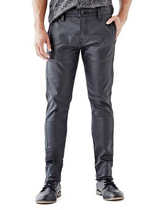 Slim Tapered Essential Side-Stitch Chino Pants
