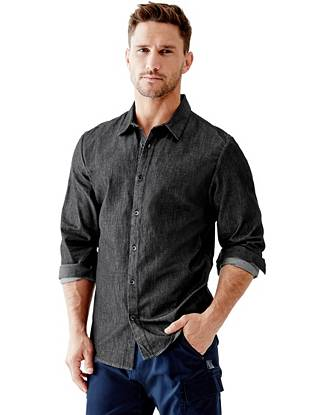 Essential Refined Slim-Fit Chambray Shirt