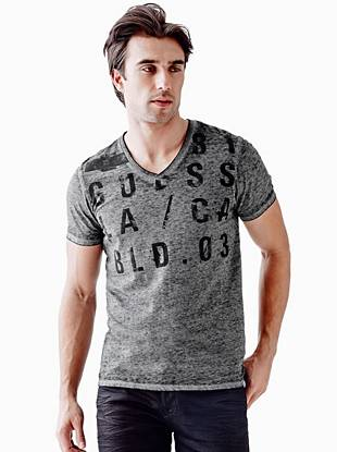 Myer Short-Sleeve GUESS Codes Tee