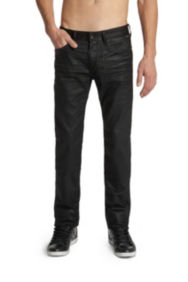 Lincoln Jeans in Black Solar Wash, 32 Inseam