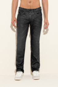 Lincoln Jeans in Gunmetal Grey Solar Wash, 32 Inseam