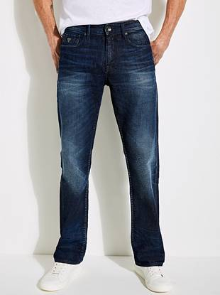 Regular Straight Jeans in Unhinged Wash