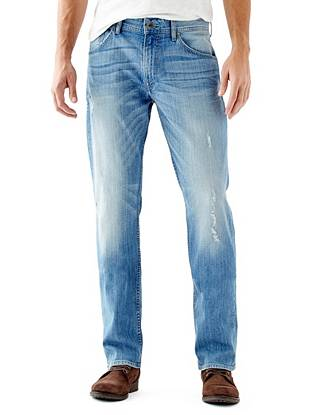 Regular Straight Jeans in Retribution Wash