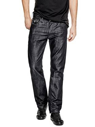 Regular Straight Jeans in Smokescreen Wash