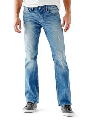 Denim Bootcut Jeans - Regular Bootcut Jeans in Retribution Wash