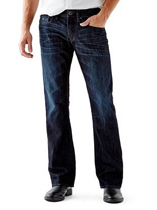 Denim Bootcut Jeans - Regular Bootcut Jeans in Riverfront Wash