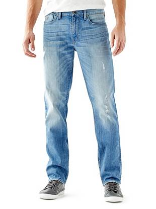 Slim Straight Jeans in Retribution Wash