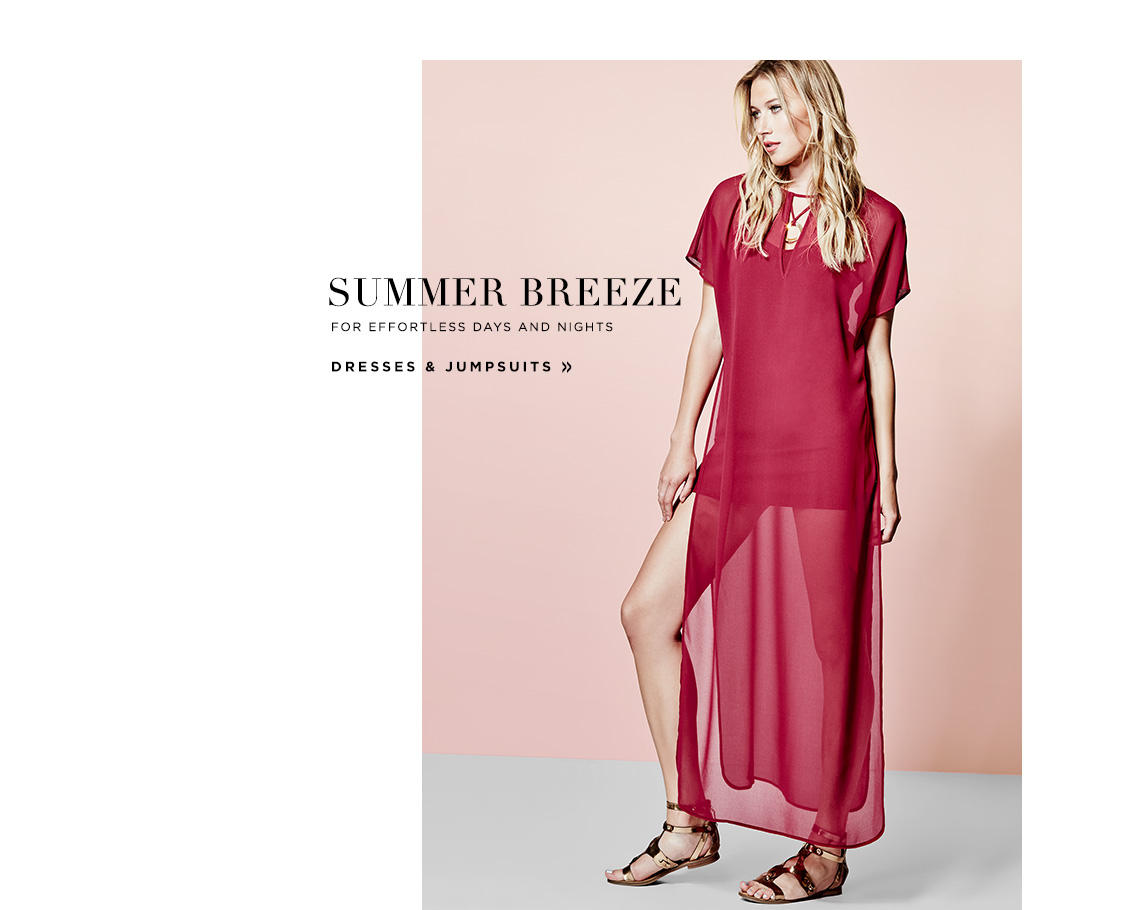 Summer Breeze: Dresses & Jumpsuits