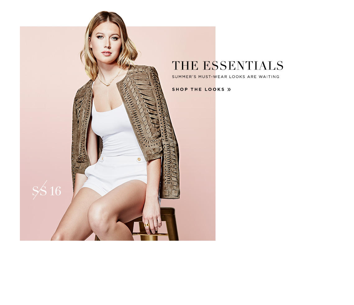 The Essentials: Shop the Looks