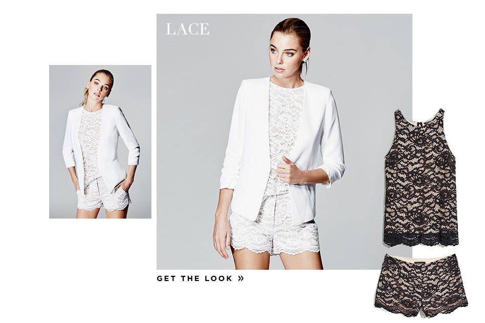 Lace Get the Look