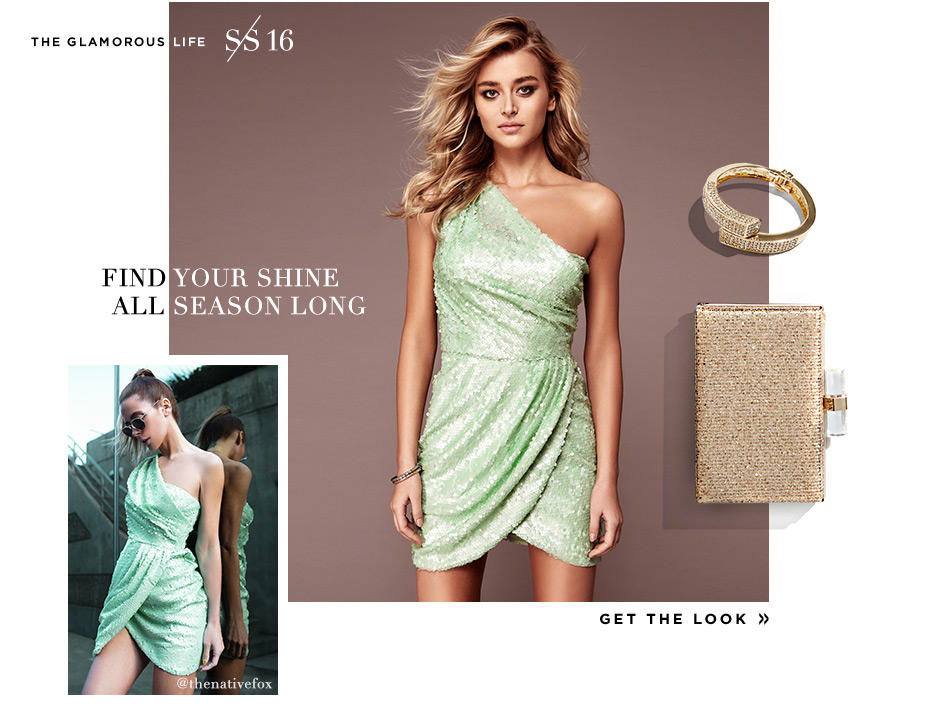 Shine Get the Look