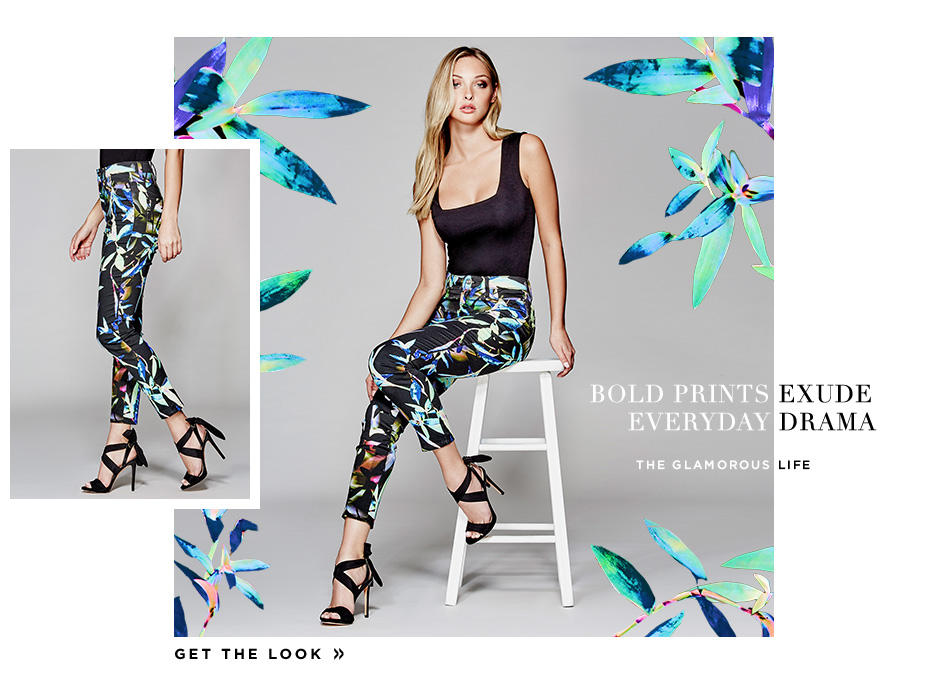 Bold Prints Get the Look