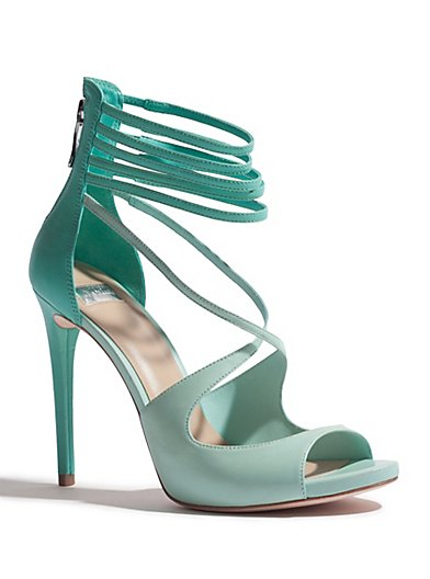 Marciano Lena Sandal - PINK HIBISCUS - size 11