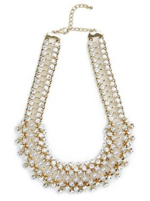 Lidia Pearl Statement Necklace