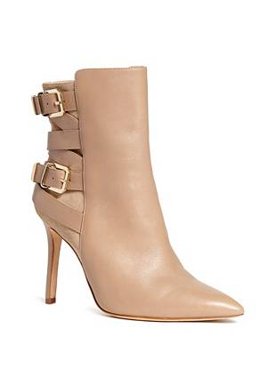 Suede Ankle Boots - Bianca Bootie