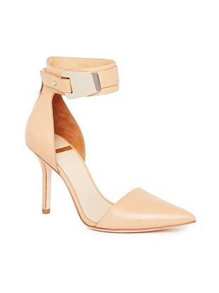 Elly Pump with Ankle Strap