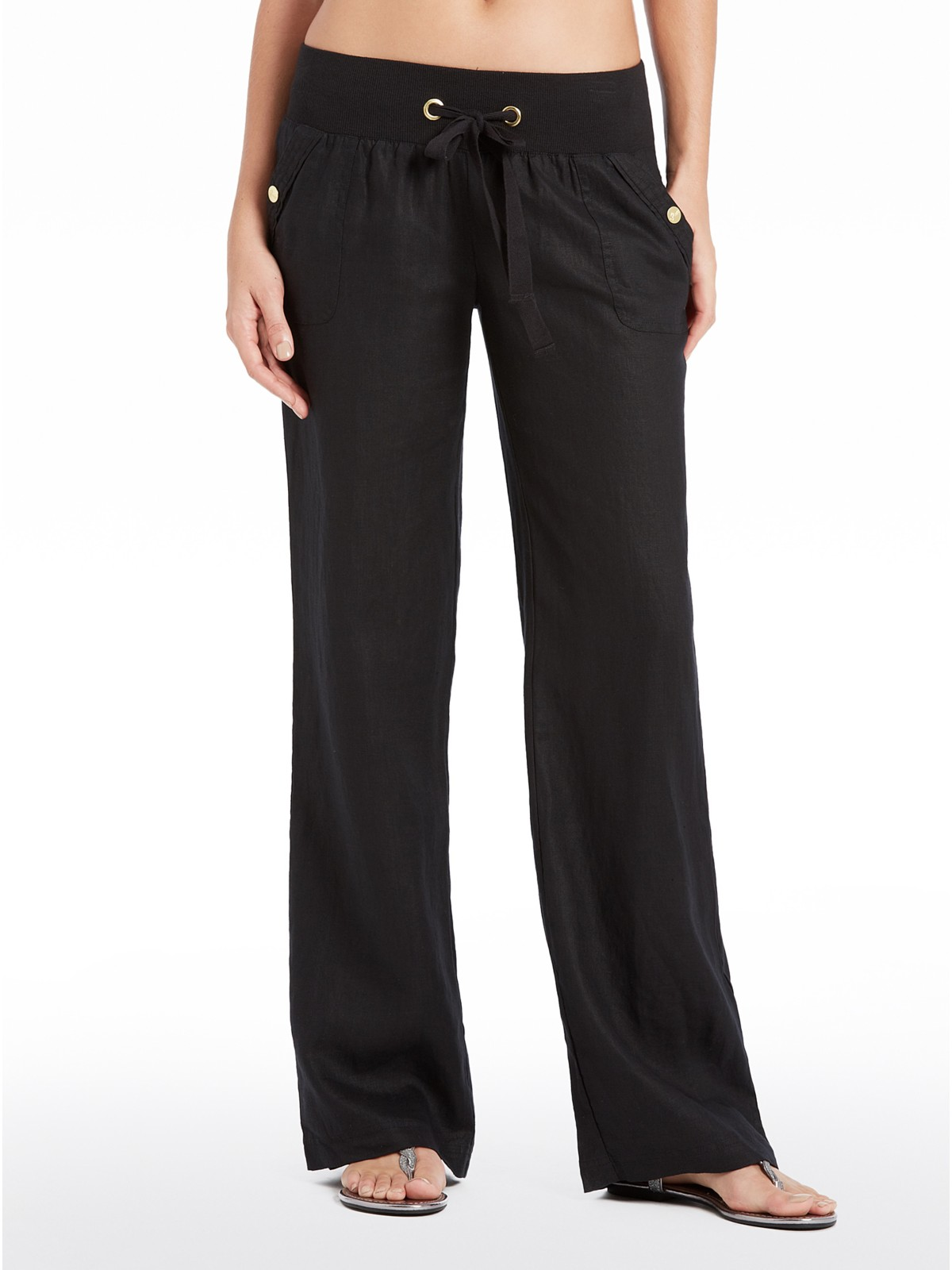Innovative Details About GUESS Women39s Teagan Linen Pants