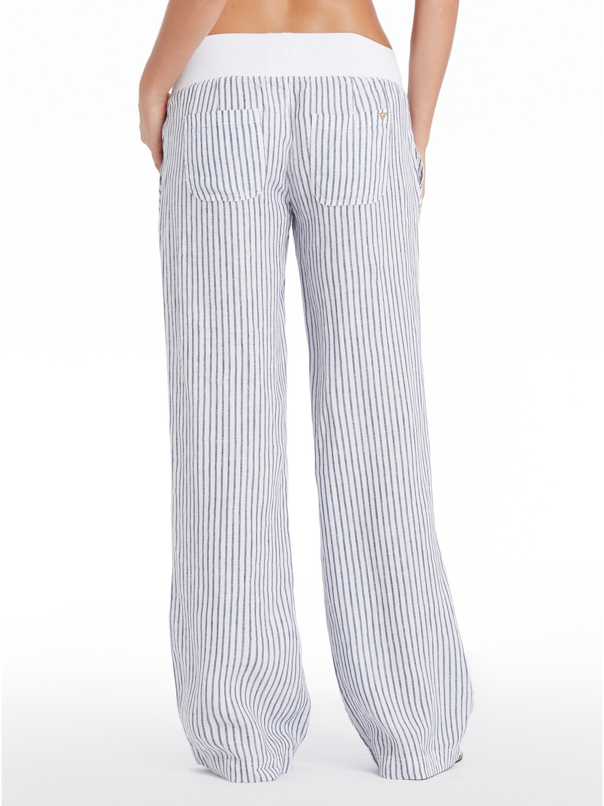 Excellent Guess Women39s White Casual Trouser