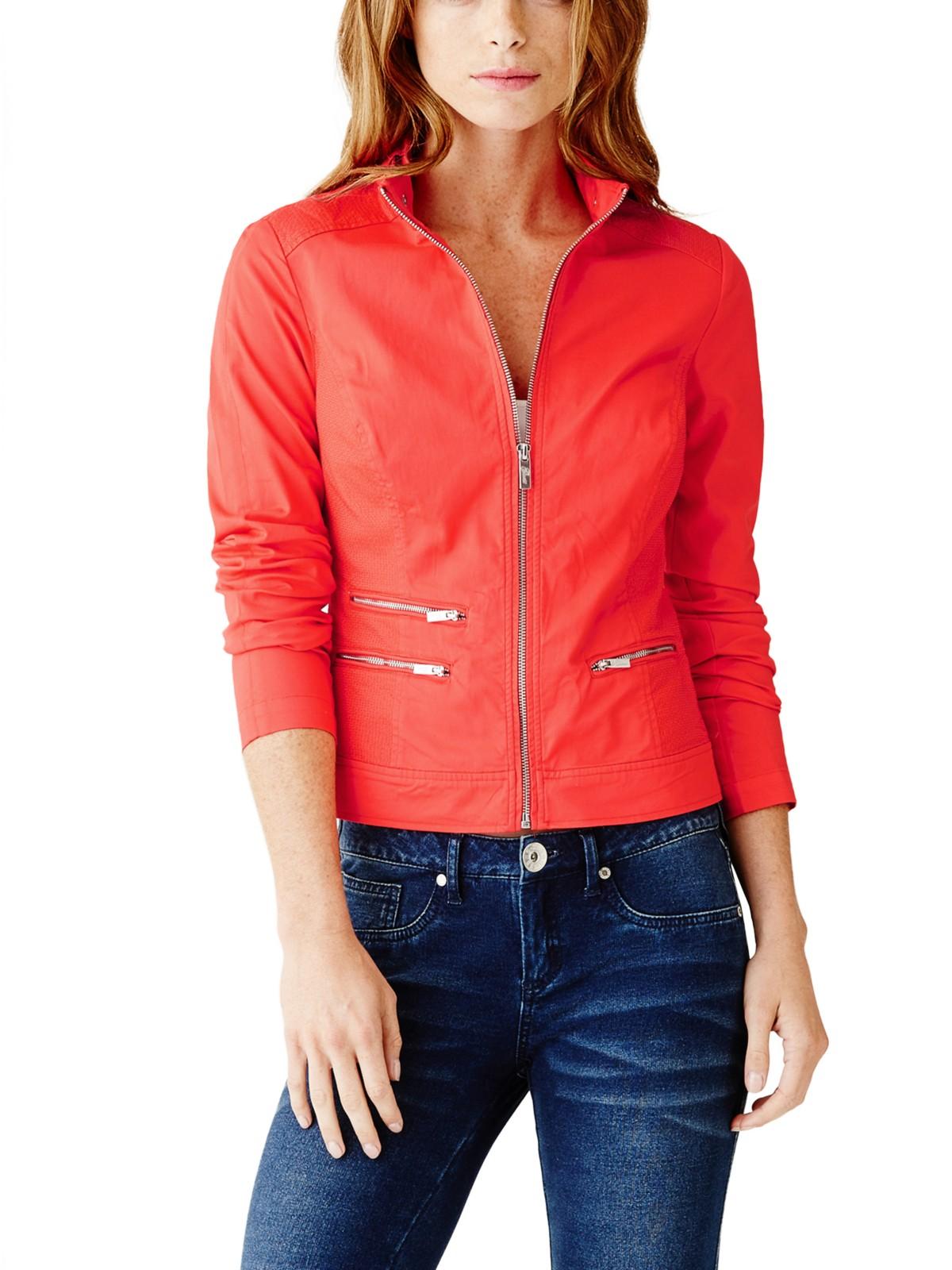 Guess Women S Tamiko Twill Jacket Ebay