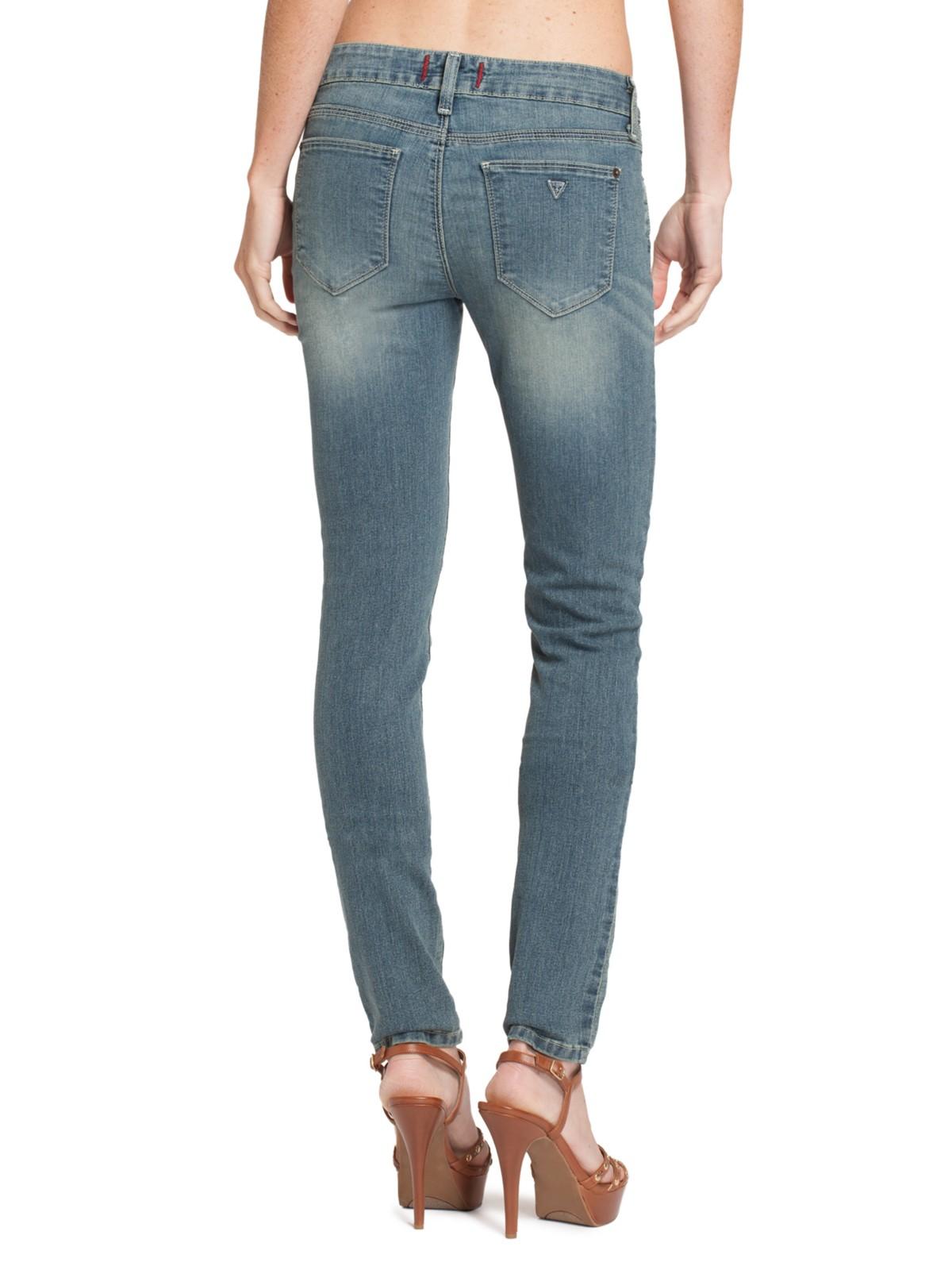 Guess women's sienna curvy skinny jeans