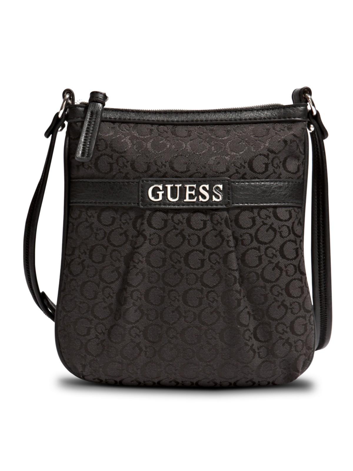 6f7a7e92b74bb GUESS Barletta Logo Cross-Body Bag