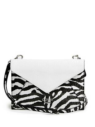 Bianco Nero Envelope Cross-Body