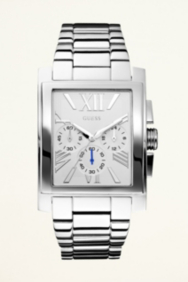 Silver-tone Classic Dress Watch