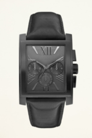 Classic Black Dress Watch