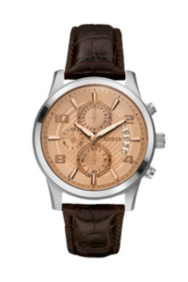 Masculine Retro Chronograph Watch