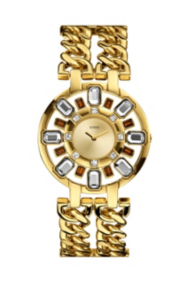 Gold-Tone Radiant Glamour Watch