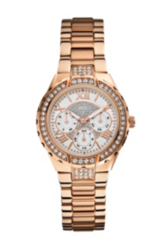 Rose Gold-Tone Sparkling Watch