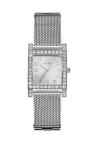 Silver-Tone Enduring Chic Crystal Watch