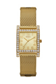 Yellow Gold-Tone Enduring Chic Crystal Watch