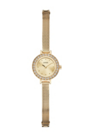 Yellow Gold-Tone Petite And Feminine Watch