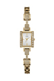 Yellow Gold-Tone Delicate Retro Glamour Watch
