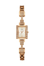 Rose Gold-Tone Delicate Retro Glamour Watch