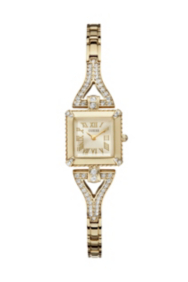 Yellow Gold-Tone Retro Glamour Watch