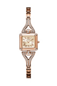 Rose Gold-Tone Retro Glamour Watch