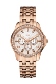 Rose Gold-Tone Polished Glamour Watch